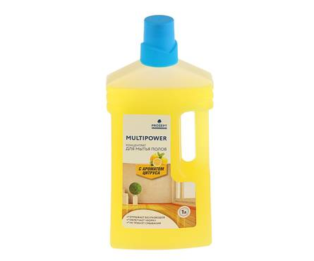 Мультипауэр Цитрус, концентрат для мытья полов 1л