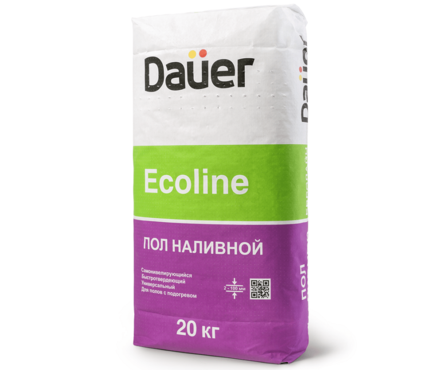 Пол DAUER Ecoline быстротвердеющий 20 кг (от 2 до 100 мм) Фотография_0