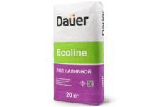 Пол DAUER Ecoline быстротвердеющий 20 кг (от 2 до 100 мм)