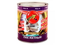 Лак Poli-R яхтный/полуматовый 0,75 л