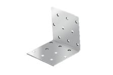 Крепежный уголок оцинкованный равносторонний KUR 100х100х100х2 мм (25 шт)