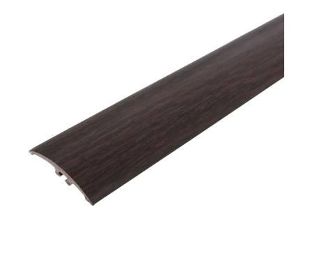 Порог разноуровневый (с дюбель гвоздями) 42мм 1,8м Каштан
