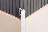 Раскладка для керамической плитки 10х2500мм мрамор зеленый наружный
