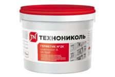 Герметик ТехноНИКОЛЬ №2К полиуретановый, белый 12 кг
