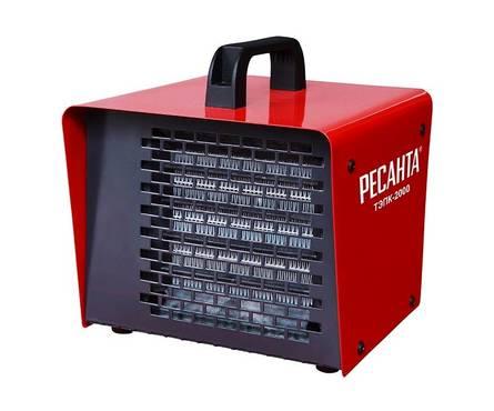 Тепловая пушка электрическая ТЭПК-3000 (керамич. нагревательный элемент) РЕСАНТА Фотография_0