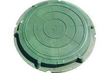 Люк легкий садовый 730/60 (А-30/3тн) зеленый