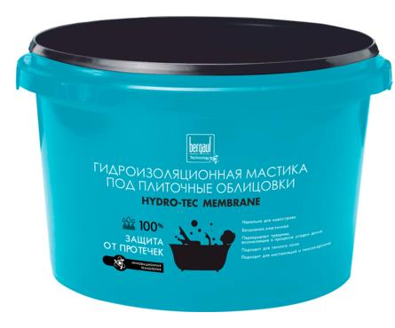 Гидроизоляция BERGAUF Hydro-Tec Membrane (4 кг) Фотография_0