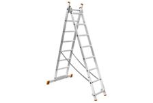Лестница ВИХРЬ ЛА 2*9 алюминиевая 2-х секционная, 9 ступеней