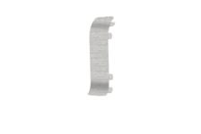 Угол для плинтуса К55 Идеал Комфорт Ясень серый-253 соединительный
