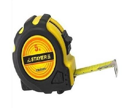 Рулетка 5х19мм STAYER STANDARD TopTape Фотография_0