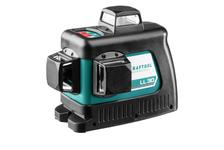 Нивелир лазерный Kraftool LL 3D с держателем ВМ1, в коробке