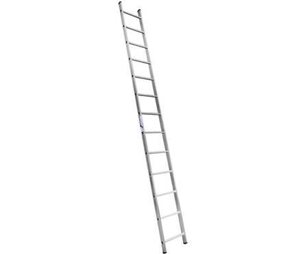 Лестница алюм. 1-но секц.14 ступеней H1 5114 (высота 391 см, вес 5,6 кг)