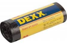 Мешки для мусора DEXX, черные 60л, 20шт.