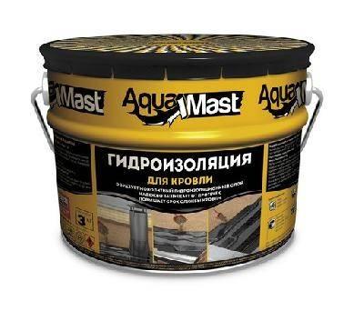 Мастика битумно-резиновая ТЕХНОНИКОЛЬ AquaMast (3 кг) Фотография_0