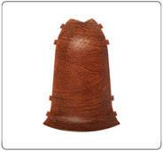 Угол для плинтуса К55 Идеал Комфорт Дуб кофейный / 207 наружный