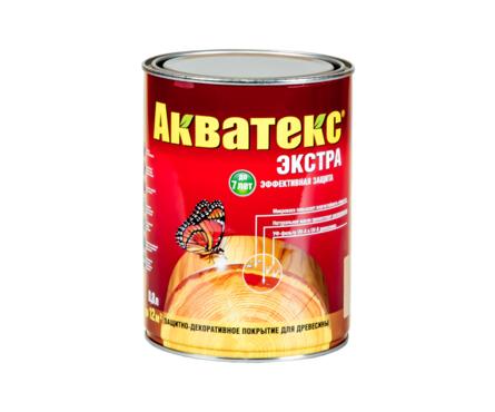 Пропитка для дерева Акватекс-Экстра белый 0,8л