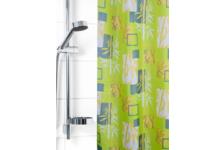Штора для ванной Вилина Бамбук 180х180 см, полиэстер