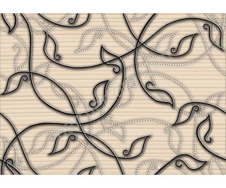 Декор Джаз бежевый  (250*350) 1сорт Фотография_0