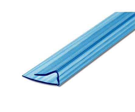 Профиль торцевой UP, 4 мм, L= 2,1 м, синий Фотография_0