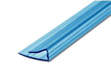 Профиль торцевой UP, 4 мм, L= 2,1 м, синий