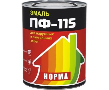 Эмаль голубая НОРМА  ПФ-115 0,9 кг