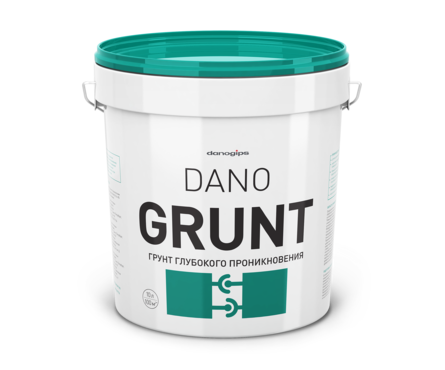Грунт Danogips DANO GRUNT глубокого проникновения, 10 л Фотография_0