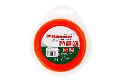 Леска триммерная Hammer Flex 216-102 TL ROUND 1.6мм*15м  круглая, цвет - красный Фотография_0