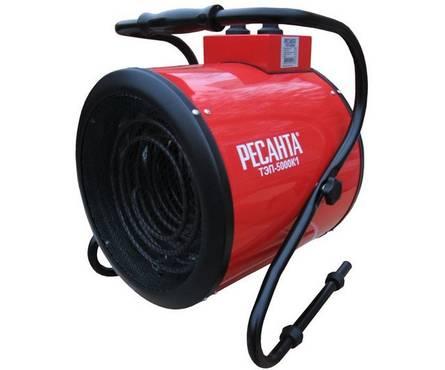 Тепловая электрическая пушка ТЭП-5000К1 (круглая) РЕСАНТА Фотография_0
