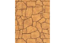 Панель МДФ Апласт с тиснением 1120*1220*6мм 2,9768м2/шт Камень Алатау коричневый