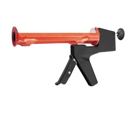 Пистолет для герметика MATRIX, 310 мл, полуоткрытый, противовес, круглый шток 8 мм Фотография_0