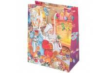 Пакет подарочный Внучка Деда Мороза  17.8х22.9х9.8 см