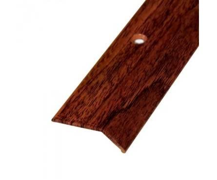 Порог-кант 45мм*15мм *1,8м красное дерево П19.39 Фотография_0