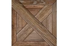 Плитка напольная Terracotta.Pro Cross 300х300 мм, коричневый