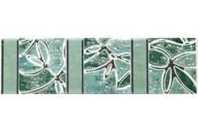 Плитка Шахтинская Пьетра бирюза фриз 200х57 (1 уп. 20 шт) 1 сорт