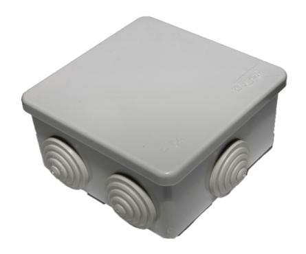 Коробка распределительная 65х65х50мм IP54, 4вх. TDM Фотография_0