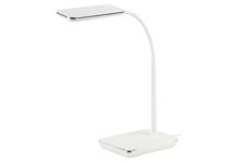 Светильник настольный ЭРА NLED-464-7W, 12,5 х 35 х 40 см, белый