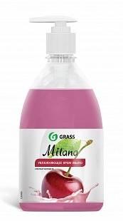 Жидкое крем-мыло с дозатором Milana 0,5л (спелая черешня) GRASS
