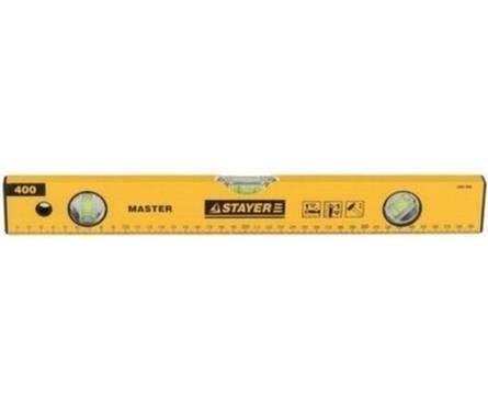 Уровень STAYER MASTER I-Bar рельс двутавровый, 40 см, 3 ампулы (1 поворотная на 360 °C), линейка Фотография_0
