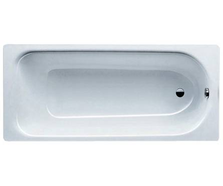 Ванна, серия Eurowa Verp., размер 1600*700*390 мм, цвет alpine white, без ножек Фотография_0