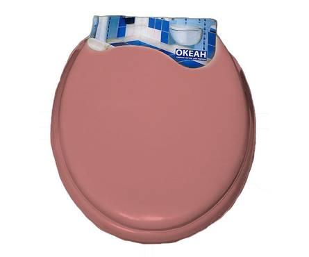 Сиденье для унитаза мягкое (розовое)