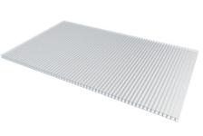 Поликарбонат сотовый Кристалл 6000 / 2100 / 4 мм, бесцветный