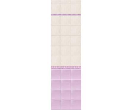 ПВХ Панель NOVITA 3D 2700*250*9мм Магнолия Сиреневая ФОН (0,675 кв. м, в уп. 12 шт.)