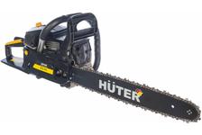 Бензопила цепная Huter BS-45, мощность 1.8 кВт, длина шины 18/45 см