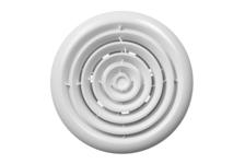 Вентилятор вытяжной Era Flow 5BB, с круглой решеткой, 125 мм, осевой, канальный
