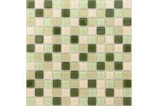 Мозаика Caramelle Mosaic Acquarelle Cypress 298х298х4 мм, чип 23х23 мм