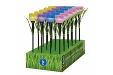 Светильник садовый Uniel Tulip Set 24, на солнечной батарее, USL-C-651/TP305