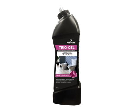 Дезинфецирующее моющее средство TRIO GEL с отбеливающим эффектом 0,75л Фотография_0