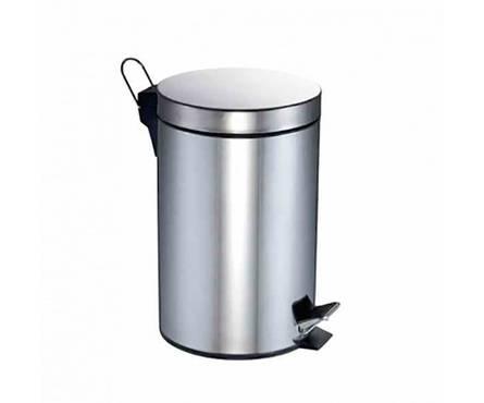 Ведро для мусора металлическое BELAQUA, 3 л Фотография_0
