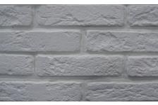 Гипсовая плитка Старый кирпич 100-00 белый, 4.7х19 см, 1.1м2 (96 штук)