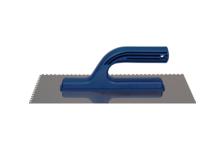 Гладилка Политех ЛЮКС 13*28 см, ручка (зуб 8*8 мм)